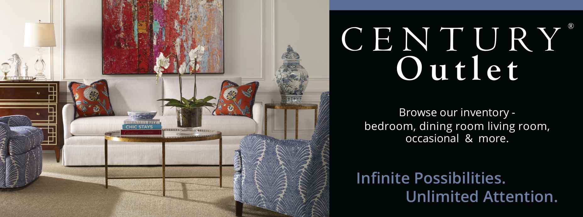 Century Furniture Factory Outlet Sale